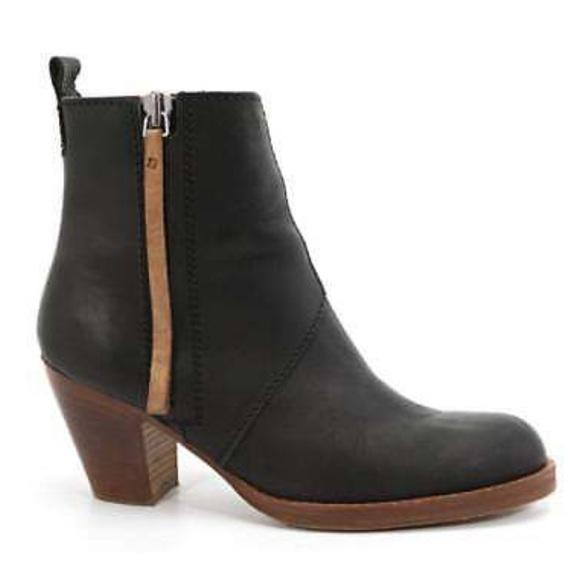 bcdcc5efab6 Acne Studios Pistol Boot, Size 38/8, Black